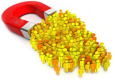 برقرار ارتباط موثر با بازدیدکنندگان سایت