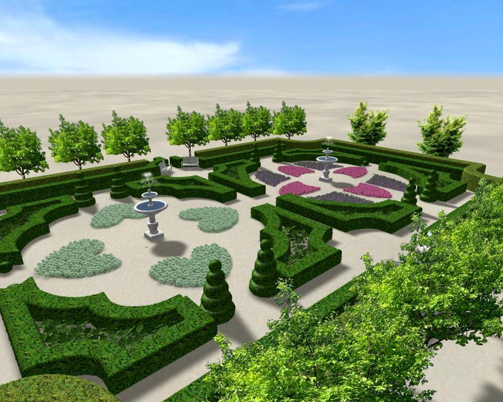 طراحی فضای سبز با نرم افزار ریل تایم آرشیتکت